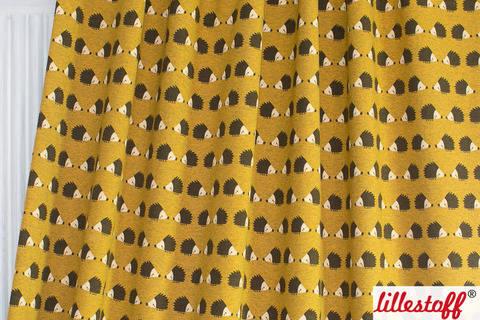 Gelb melierter Bio-Jersey: Igellove - 160 cm kaufen im Makerist Materialshop
