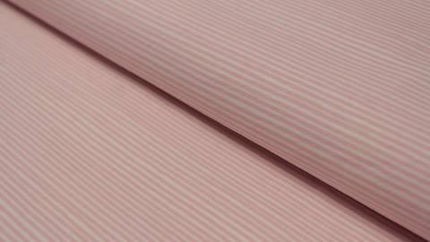 Jerseystoff rosa-weiß: Avalana Streifen - 162 cm kaufen im Makerist Materialshop