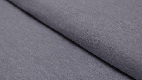 Blauer melierter Jersey: Avalana Melange - 160 cm kaufen im Makerist Materialshop