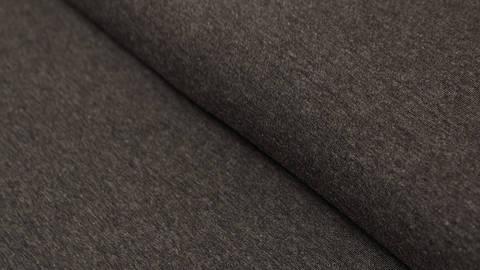 Schwarzer melierter Jersey: Avalana Melange - 160 cm kaufen im Makerist Materialshop