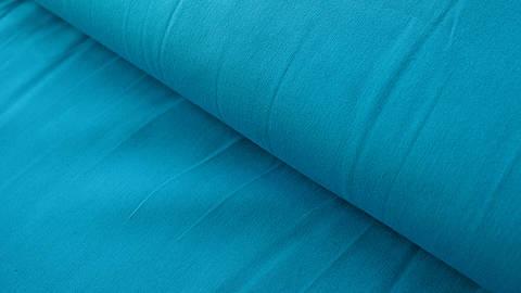 Dunkeltürkis Uni Baumwollstoff: Heide - 150 cm kaufen im Makerist Materialshop