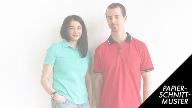 Gedrucktes Schnittmuster: Poloshirt für Kinder nähen - Größe 86-152 - Schnittmuster kaufen im Makerist Materialshop