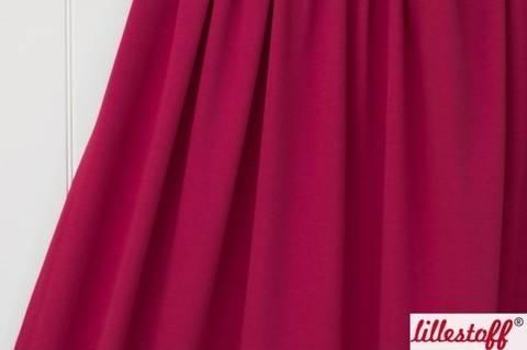 Himbeerfarbener Uni Bio-Jersey lillestoff - 150 cm kaufen im Makerist Materialshop