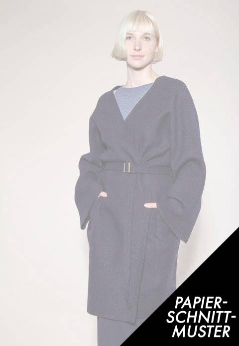 Gedrucktes Schnittmuster für: Mantel zur Make Something Week  kaufen im Makerist Materialshop