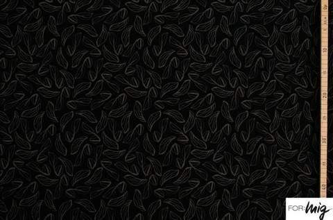 Schwarzer Modalstoff lillestoff: Zartesso - 150 cm kaufen im Makerist Materialshop