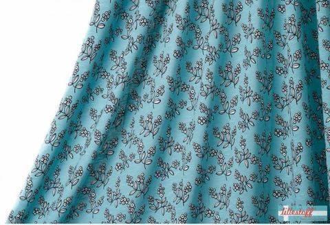 Blauer Slubjersey lillestoff: Annemarie - 150 cm  kaufen im Makerist Materialshop