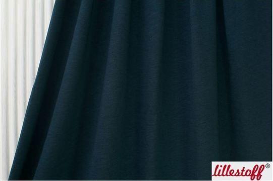 Dunkelblauer Uni Slubjersey lillestoff - 150 cm - Stoffe kaufen im Makerist Materialshop