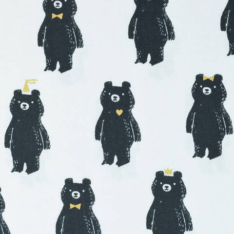 Cotton and Steel - Bear hug metallic kaufen im Makerist Materialshop