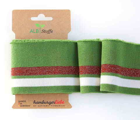 Elastische Cuff me Bündchen: Glam - Col. 03 kaufen im Makerist Materialshop
