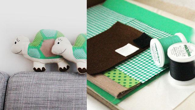 kuscheltier schildkr te selber n hen online kaufen bei makerist. Black Bedroom Furniture Sets. Home Design Ideas