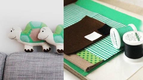 Selma die Schildkröte - Kuscheltier Komplettbox kaufen im Makerist Materialshop
