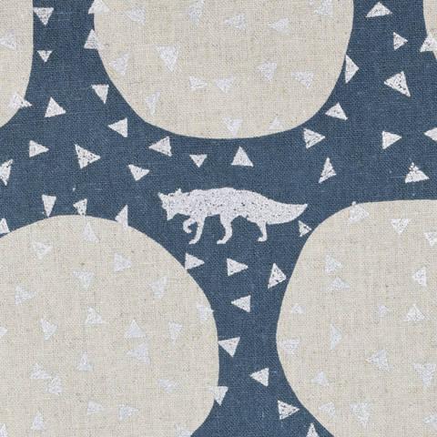 Echino for KOKKA Den in Slate Fuchs blau/silber kaufen im Makerist Materialshop