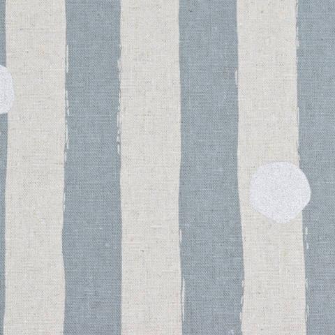 Echino for KOKKA Streifen grau silber kaufen im Makerist Materialshop