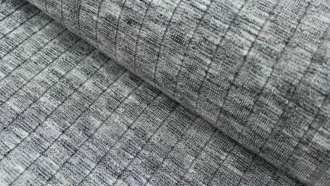 Grauer Rippenstrick - 150 cm kaufen im Makerist Materialshop