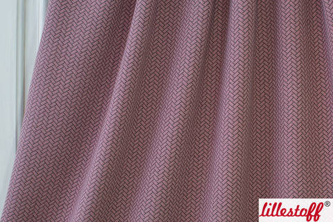 Altrosafarbener Baumwoll-Stepper lillestoff: Knit Optik - 160 cm kaufen im Makerist Materialshop