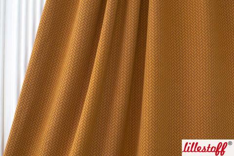 Zimtorangefarbener Baumwoll-Stepper lillestoff: Knit Optik - 160 cm kaufen im Makerist Materialshop