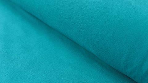 Viskosejersey uni petrol: Ginza - 160 cm kaufen im Makerist Materialshop