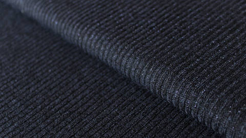 Navyfarbener Ripp-Jersey: Sparkling - 150 cm kaufen im Makerist Materialshop