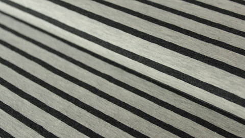 Ecru-anthrazitfarben melierter Baumwolljersey: Yarn dyed Stripes - 150 cm kaufen im Makerist Materialshop