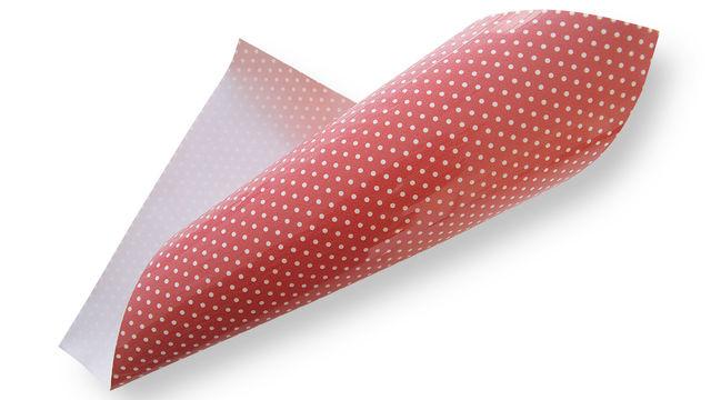 Pünktchen Flockfolie zum Plotten - rot - Plotter und Folien kaufen im Makerist Materialshop