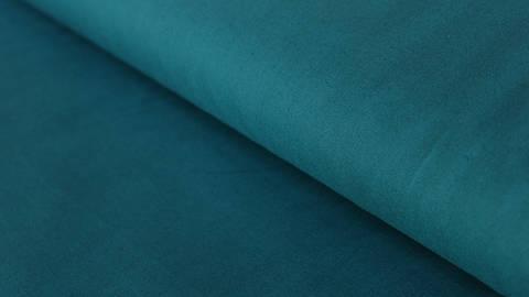 Baumwollstoff dunkelpetrol uni: Heide - 150 cm kaufen im Makerist Materialshop