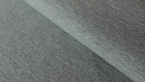 Dunkelgrau melierter Uni Baumwolljersey: Dark Grey Melange - 160 cm kaufen im Makerist Materialshop