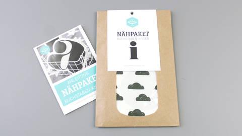 Dekokissen: Buchstabe mit Wolken-Muster - i kaufen im Makerist Materialshop