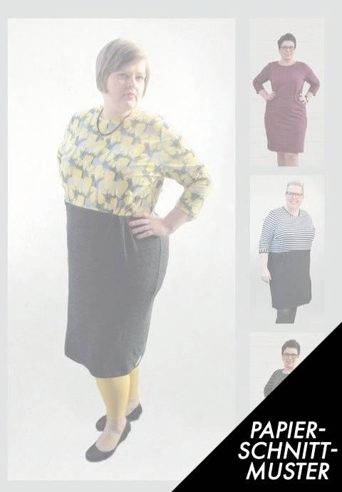 Gedrucktes Schnittmuster für: Kleid Nr.3 / Gr L bis XXL kaufen im Makerist Materialshop