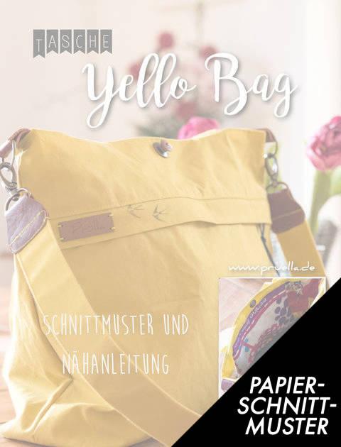 Gedrucktes Schnittmuster für: yello bag Schultertasche  kaufen im Makerist Materialshop