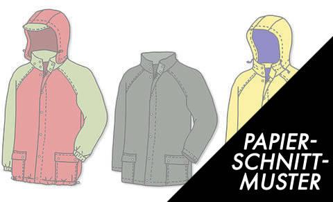 Gedrucktes Schnittmuster für: Regenjacke, Friesennerz,Wachsjacke Schnittmuster kaufen im Makerist Materialshop