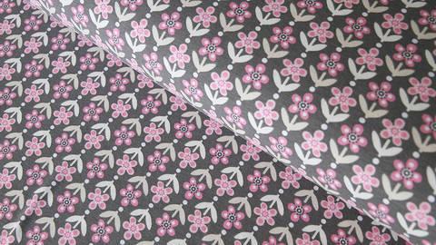 Grau-rosafarbener Jersey: Twiggy - 150 cm kaufen im Makerist Materialshop