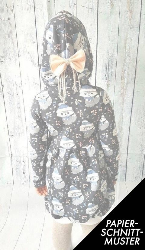 """Gedrucktes Schnittmuster für: """"Dezembersonne""""  Ballonkleid Gr. 86-146  kaufen im Makerist Materialshop"""
