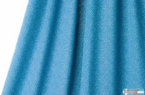 Taubenblau-grauer Jacquard lillestoff: Dotties - 170 cm kaufen im Makerist Materialshop
