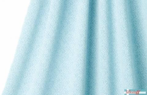 Hellblau-taubenblauer Jacquard lillestoff: Dotties - 170 cm kaufen im Makerist Materialshop