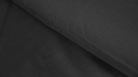 Acheter Tissu en viscose radiance uni noir - 142 cm dans la mercerie Makerist