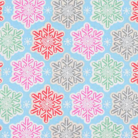 Blend Vintage Noel - Schneekristall bunt kaufen im Makerist Materialshop