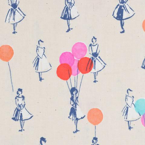 Cotton and Steel - Balloons peach kaufen im Makerist Materialshop