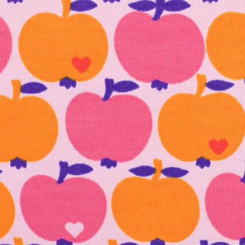 Jersey by Graziela orange/pink kaufen im Makerist Materialshop