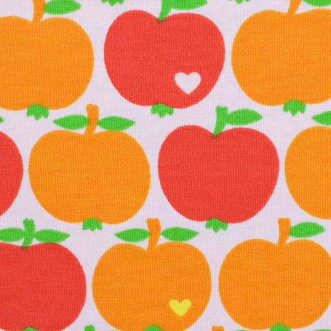 Jersey by Graziela orange/rot kaufen im Makerist Materialshop
