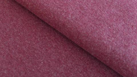 Bündchenstoff bordeaux meliert: Heike - 95 cm kaufen im Makerist Materialshop
