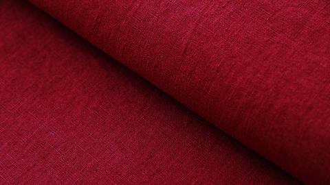 Leinenstoff burgundy: Damiel - 140 cm kaufen im Makerist Materialshop