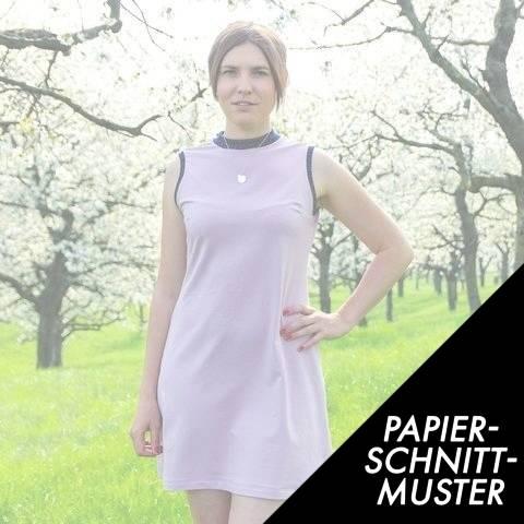 Gedrucktes Schnittmuster für: Kleid Adiva - Schnittmuster kaufen im Makerist Materialshop
