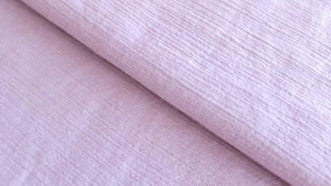 Altrosafarbener Uni Baumwollstoff: Fältchen - 127 cm kaufen im Makerist Materialshop