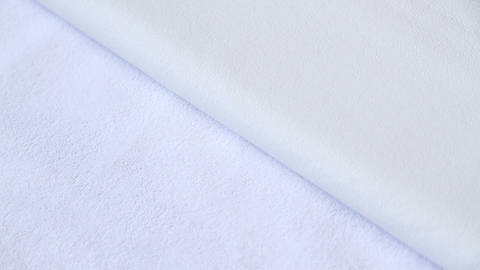 Weißer beschichteter Frotteestoff - 150 cm kaufen im Makerist Materialshop