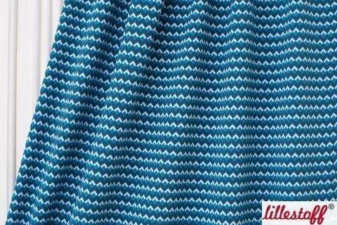 Blau-weißer Bio-Jersey lillestoff: Stella - 150 cm  kaufen im Makerist Materialshop
