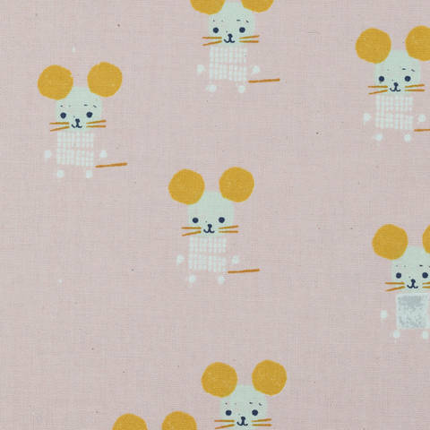 Cotton and Steel - Sunshine - Little Friends Pink kaufen im Makerist Materialshop