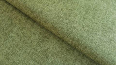 Olivgrüner Baumwollstoff: Melange - 112 cm kaufen im Makerist Materialshop