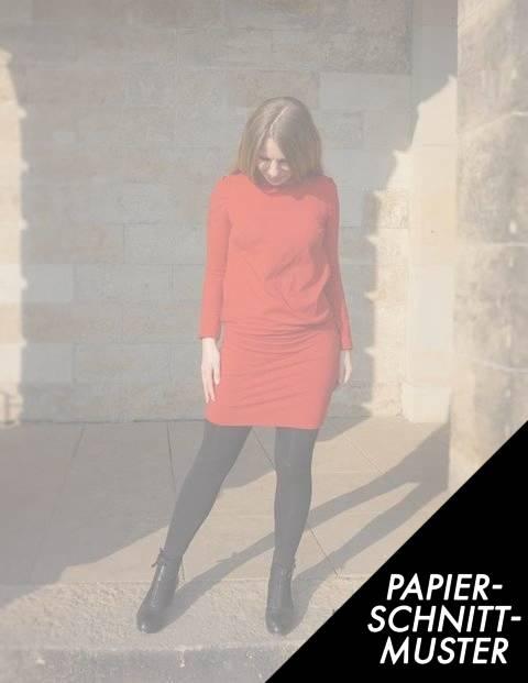 Gedrucktes Schnittmuster für: Jerseykleid LEONORE - Schnittmuster kaufen im Makerist Materialshop