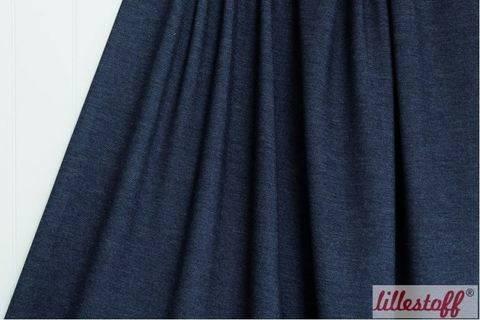 Dunkelblauer Sommer-Jeansjersey lillestoff: Woman - 160 cm  kaufen im Makerist Materialshop