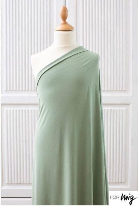 Hellgrüner Modalstoff lillestoff: Miss Patty Primavera Kombi - 150 cm kaufen im Makerist Materialshop